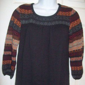 RXB Black Sweater Fits  Large